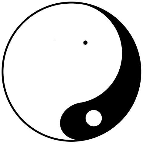 yin yang unbalanced